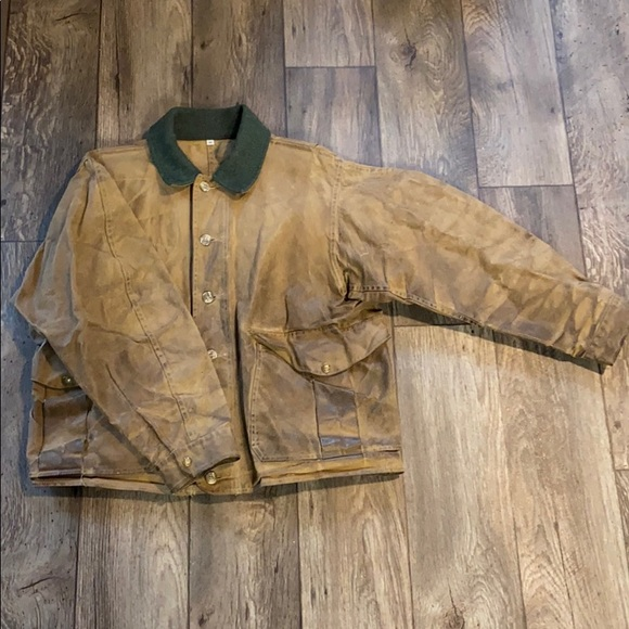 Vintage Filson Tin Cloth Jacket